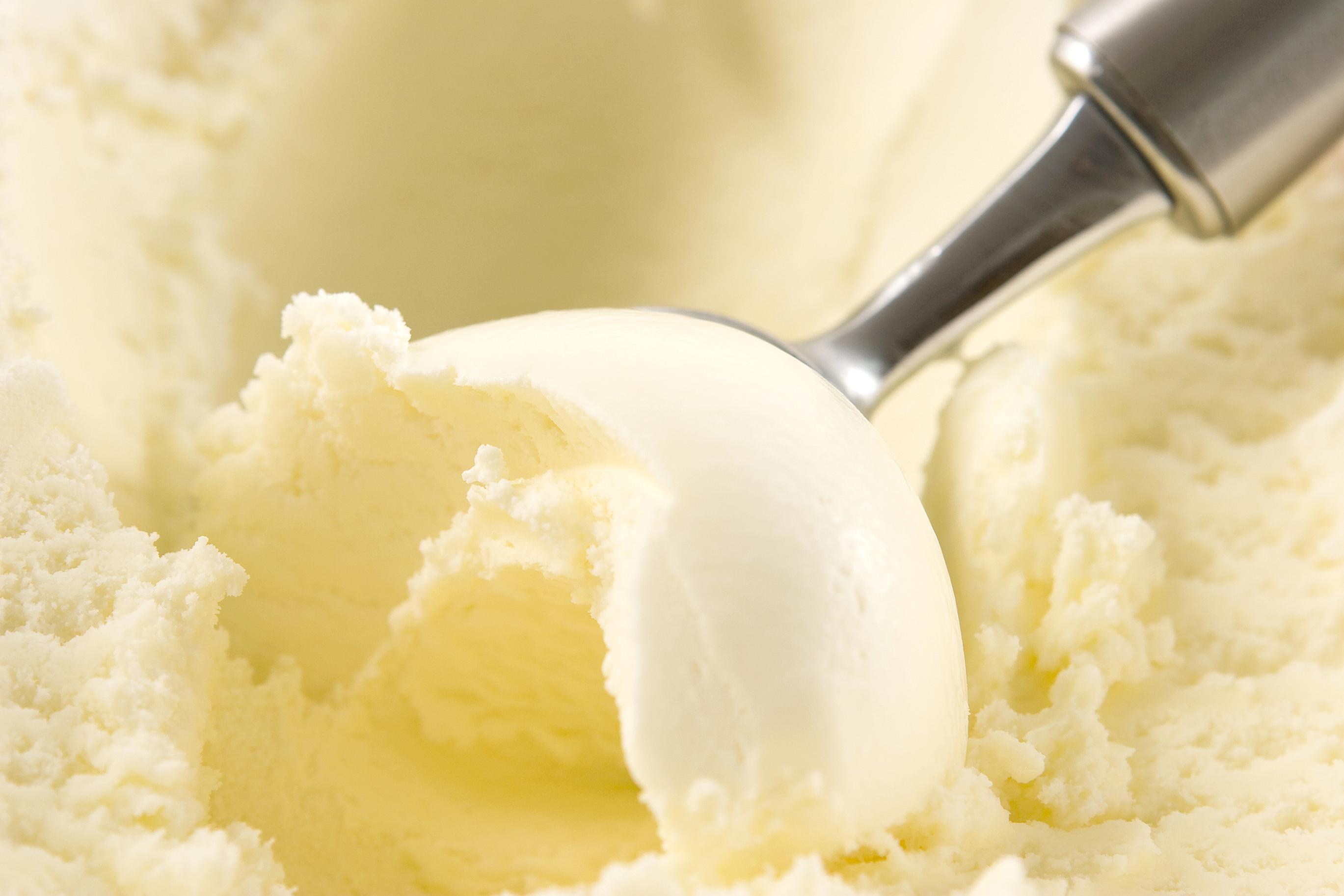 Как сделать мороженое с ванилью