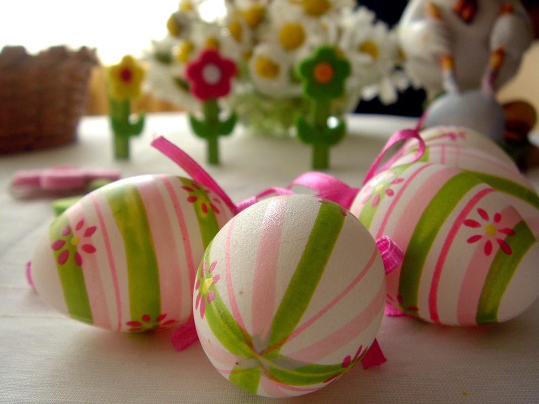 Покраска яиц к пасхе