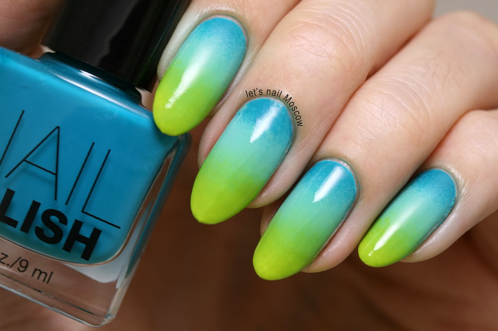 Дизайн ногтей градиент гель