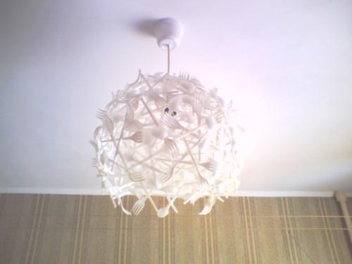?? Декоративные лампы и светильники из необычных материалов