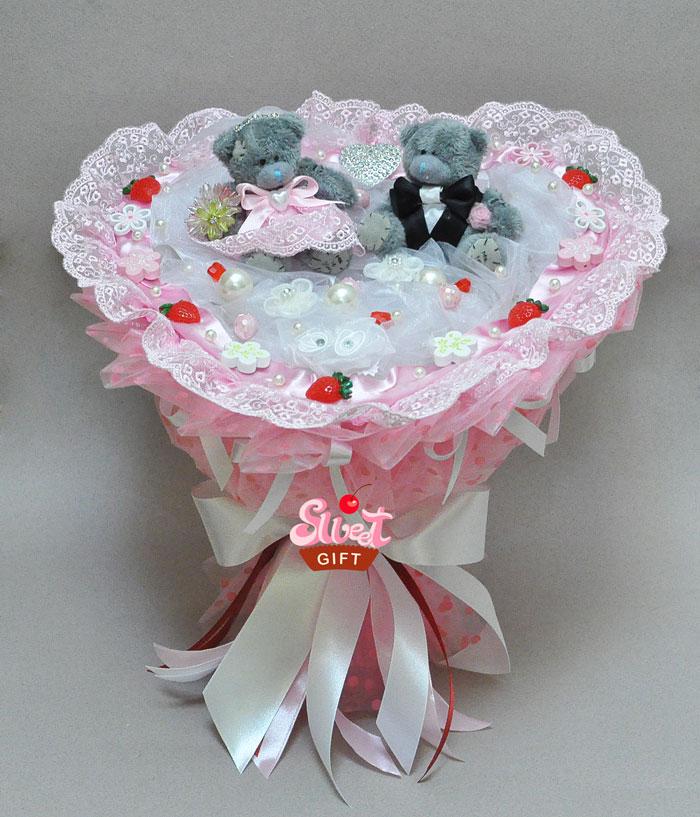 ?? Оригинальный букет для невесты без цветов