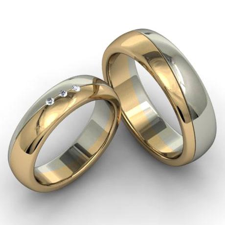 Плетеные кольца обручальные кольца