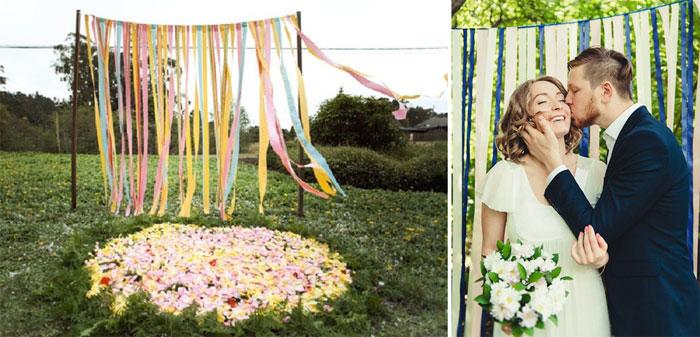 Ширмы для фотозоны на свадьбу