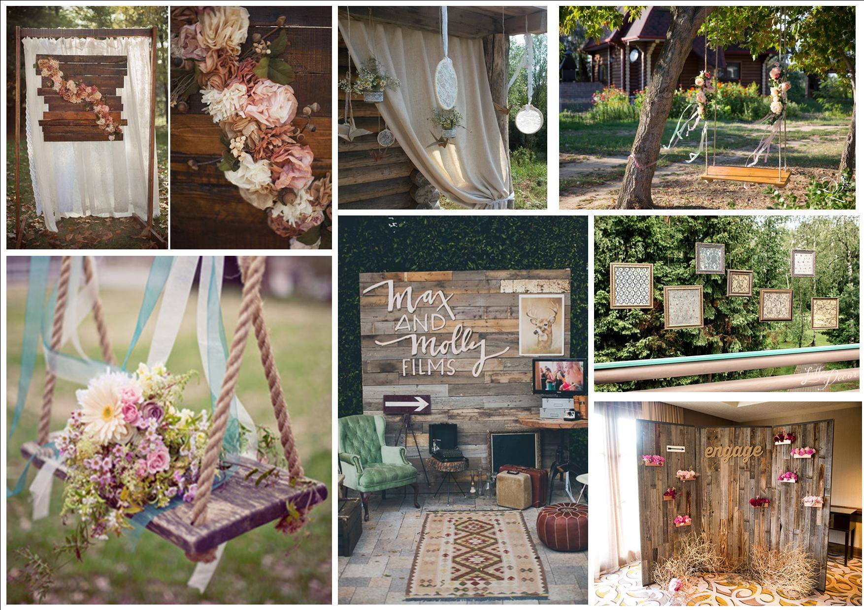 Цветочного декор на свадьбу