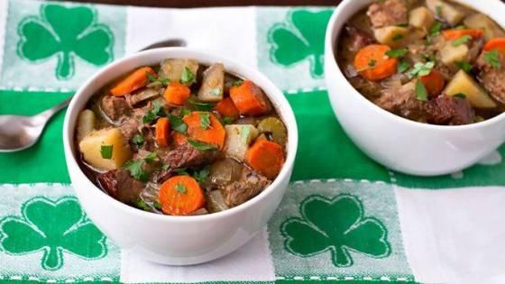 Блюда ирландии рецепт