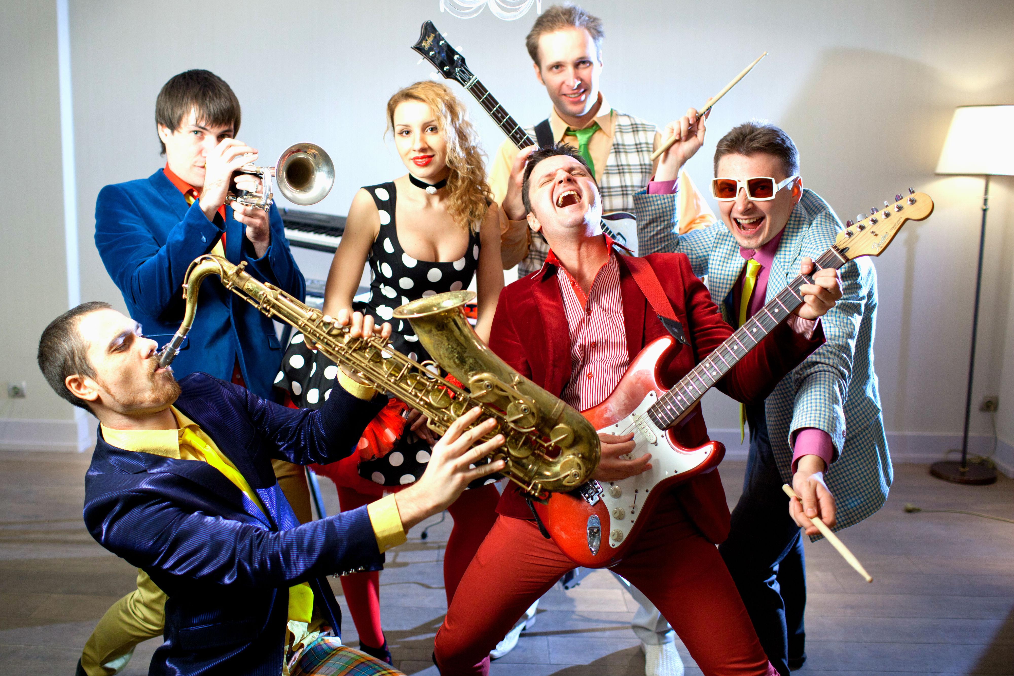 Музыкальный коллектив праздники