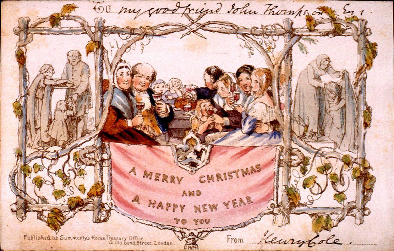Поздравления в англии с новым годом