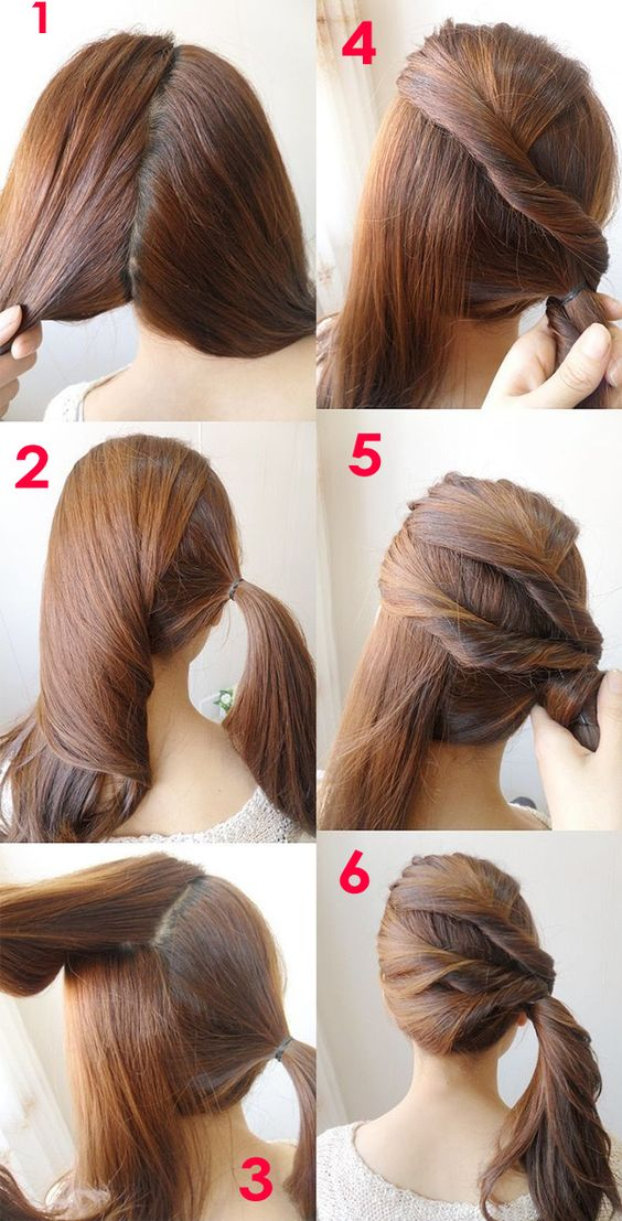 Hair tutorial mittellanges haar