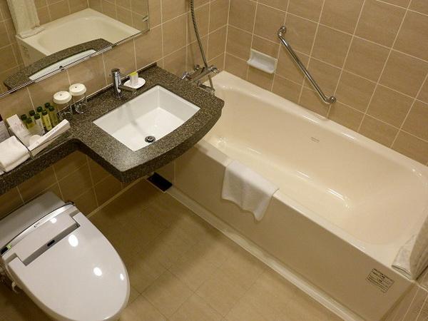 Ванная с туалетом совмещенные дизайн для молодой семьи