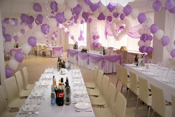 Свадебные украшения своими руками для зала фото