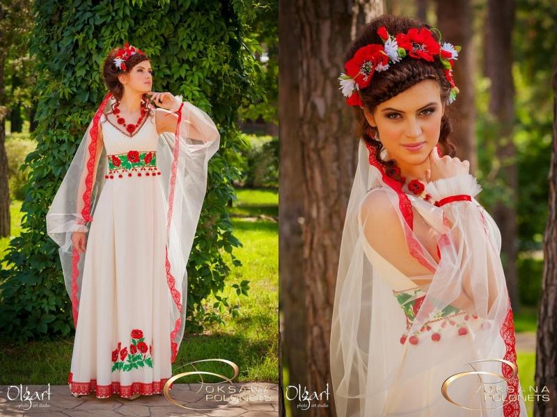 Фото русских народных свадебных платьев