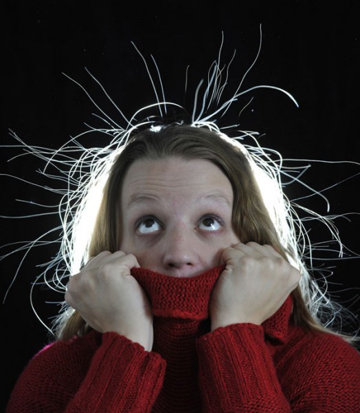 Как сделать так чтобы свитер не электризовался