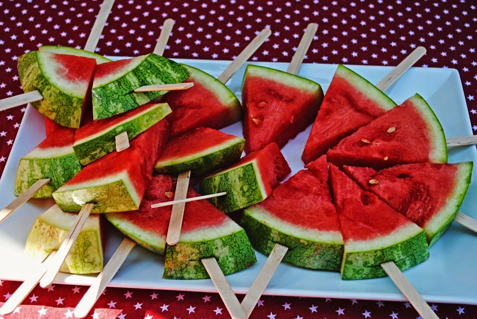 Как порезать арбуза с