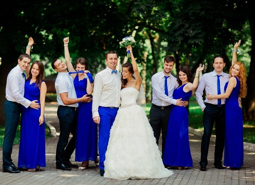 В каких цветах делают свадьбы