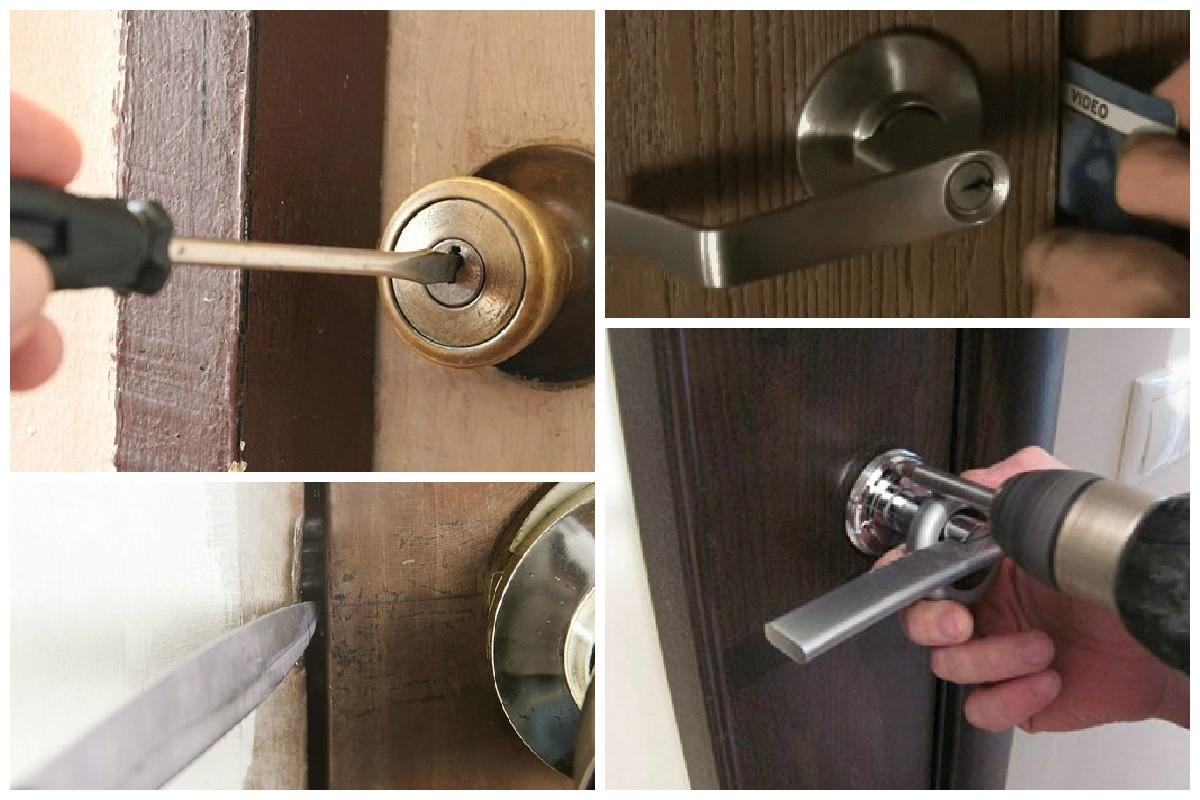 Что делать если не открывается замок в железной двери