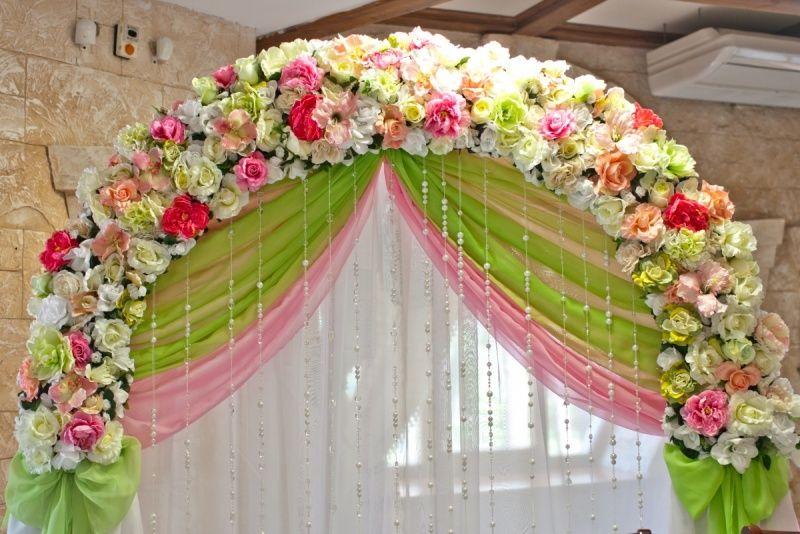 Как сделать букеты для свадебного стола